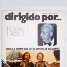 Cine: REVISTA DE CINE N°24 DIRIGIDO POR...HOWARD HAWKS 1975. Lote 118674655