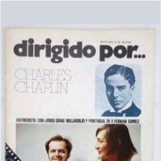 Cine: REVISTA DE CINE N°33 DIRIGIDO POR...CHARLES CHAPLIN 1976. Lote 118674791