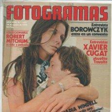 Cine: REVISTA FOTOGRAMAS NÚMERO 1557 DEL 18 AGOSTO DE 1978 PETER FONDA ROBERT MITCHUM NADIA WINDELL. Lote 118680723