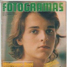 Cine: REVISTA FOTOGRAMAS NÚMERO 1562 DEL 22 SEPTIEMBRE DE 1978 MIGUEL BOSÉ PETER FALK DONALD SUTHERLAND. Lote 118680731
