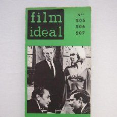 Cinema: REVISTA DE CINE. FILM IDEAL. Nº 205-206-207. CRITICA DE CINE DE 1967 A 1969. Lote 118815011