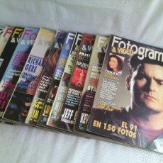 Cine: LOTE REVISTA FOTOGRAMAS.AÑO 1992.COMPLETO.. Lote 118895783