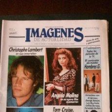Cine: IMAGENES DE ACTUALIDAD Nº 29-1986-HOMBRES G-ELOY DE LA IGLESIA-ALMLODOVAR-GRETA GARBO-GEORGE BENSON. Lote 125184828