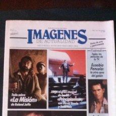 Cine: IMAGENES DE ACTUALIDAD Nº 31-1986-ANGELA MOLINA-DAVID BOWIE-FRANCO BATTIATO-JOAN BIBILONI. Lote 125184463