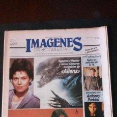 Cine: IMAGENES DE ACTUALIDAD Nº 32-1986-SIGOURNEY WEAVER-JAMES CAMERON-DAVID LYNCH-VIDEODROME-ROCIO DURCAL. Lote 125184482