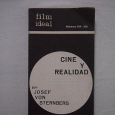 Cinema: REVISTA CINE. FILM IDEAL. Nº 224-225. CINE Y REALIDAD. Lote 119041807