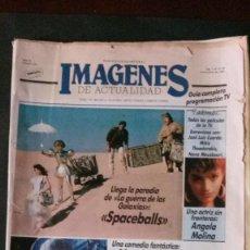 Cine: IMAGENES DE ACTUALIDAD Nº 54-1987-STAR WARS-ANGELA MOLINA-OS RESENTIDOS-NANA MOUSKOURI-CICCIOLINA. Lote 125184592