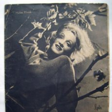 Cinéma: IMPERIO ARGENTINA. MARLENE DIETRICH REVISTA PRIMER PLANO. 1942.. Lote 119124251