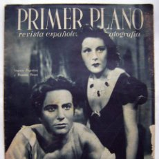 Cinéma: IMPERIO ARGENTINA. MARLENE DIETRICH REVISTA PRIMER PLANO. 1943.. Lote 119125799
