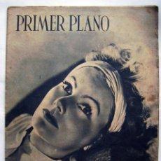 Cinema: GRETA GARBO. REVISTA PRIMER PLANO. 1942.. Lote 119128091