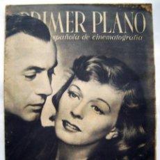 Cine: CHARLES BOYER Y MARGARET SULLAVAN. REVISTA PRIMER PLANO. 1942.. Lote 119129023