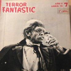 Cine: TERROR FANTASTIC. Nº 7, 13 Y 15. AÑO 2. (PEDRO YOLDI,1972). . Lote 119339603