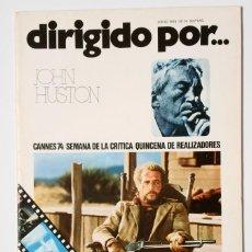 Cine: DIRIGIDO POR... Nº 14 (JUNIO 1974) JOHN HOUSTON. Lote 119458619