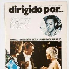 Cine: DIRIGIDO POR... Nº 18 (NOVIEMBRE/DICIEMBRE 1974) STANLEY DONEN. Lote 119459667