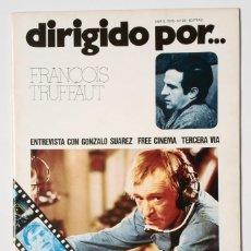 Cine: DIRIGIDO POR... Nº 22 (ABRIL 1975) FRANCOIS TRUFFAUT - GONZALO SUAREZ. Lote 119460611