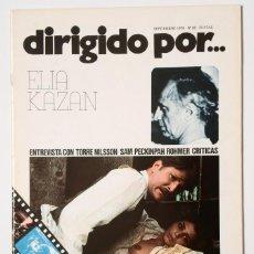 Cine: DIRIGIDO POR... Nº 36 (SEPTIEMBRE 1976) ELIA KAZAN. Lote 119463567