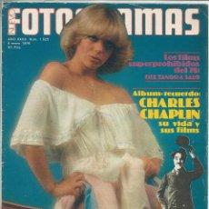 Cine: REVISTA FOTOGRAMAS NÚMERO 1525 DEL 6 DE ENERO DE 1978 SISA CHAPLIN. Lote 119738643