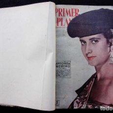 Cine: REVISTA PRIMER PLANO. 1 TOMO CON 28 REVISTAS. AÑO: 1958. BUEN ESTADO. REVISTA CINE.. Lote 119874759