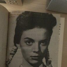 Cine: REVISTAS FILM IDEAL AÑO 1961 ENCUADERNADO INCOMPLETO. Lote 119904303