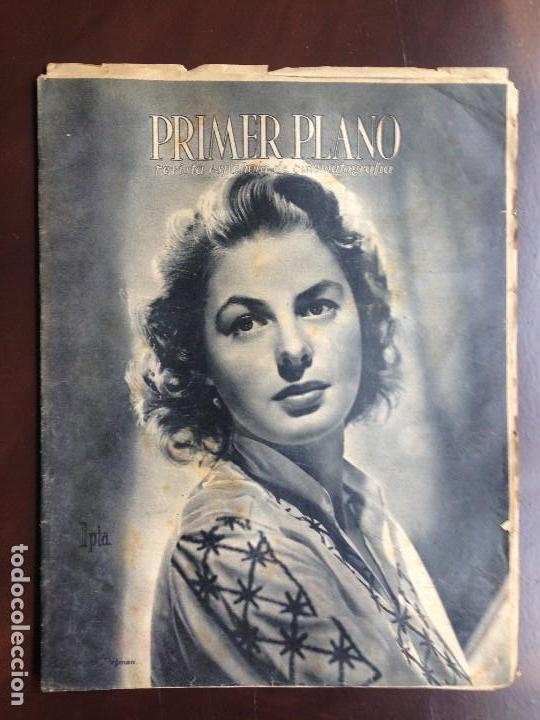 Cine: Ingrid Bergman - REVISTA PRIMER PLANO. JUNIO DE 1944. Nº192. - Foto 2 - 120138503