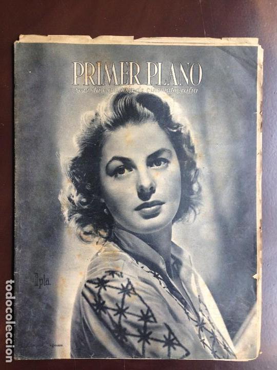 INGRID BERGMAN - REVISTA PRIMER PLANO. JUNIO DE 1944. Nº192. (Cine - Revistas - Primer plano)