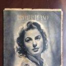 Cine: INGRID BERGMAN - REVISTA PRIMER PLANO. JUNIO DE 1944. Nº192.. Lote 120138503