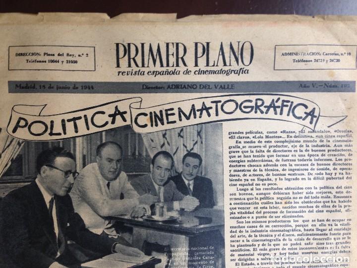 Cine: Ingrid Bergman - REVISTA PRIMER PLANO. JUNIO DE 1944. Nº192. - Foto 4 - 120138503
