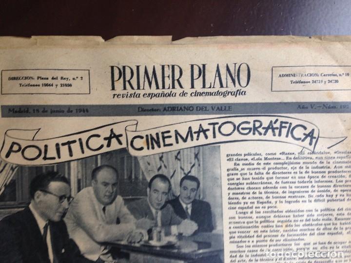 Cine: Ingrid Bergman - REVISTA PRIMER PLANO. JUNIO DE 1944. Nº192. - Foto 5 - 120138503