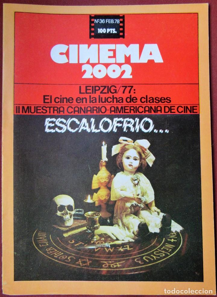CINEMA 2002 NÚMERO 36 (Cine - Revistas - Cinema)