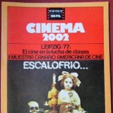 Cine: CINEMA 2002 NÚMERO 36. Lote 120308607