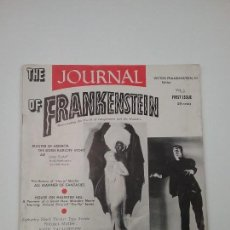 Cine: THE-JOURNAL-OF-FRANKENSTEIN - REVISTA DE CINE DE TERROR - 1959 - NÚMERO UNO 1. Lote 120403319