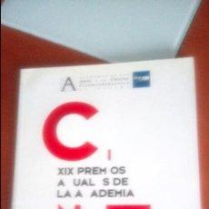 Cine: XIX PREMIOS DE LA ACADEMIA DE CINE ESPAÑOL . Lote 120448839