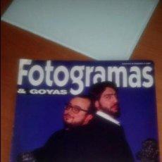 Cine: FOTOGRAMAS & GOYAS SUPLEMENTO Nº 1828. Lote 120449187