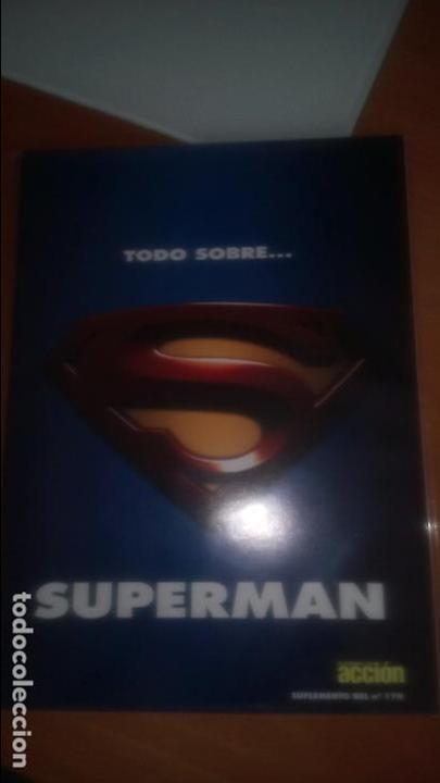 TODO SOBRE SUPERMAN SUPLEMENTO REVISTA ACCION Nº 170 (Cine - Revistas - Otros)