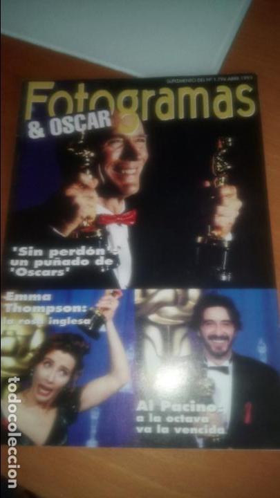 FOTOGRAMAS OSCARS 1992 (Cine - Revistas - Fotogramas)