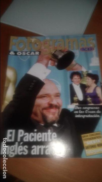 FOTOGRAMAS OSCARS 1996 (Cine - Revistas - Fotogramas)