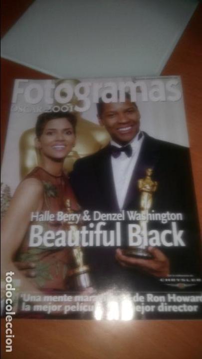 FOTOGRAMAS OSCARS 2001 (Cine - Revistas - Fotogramas)