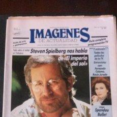 Cine: IMAGENES DE ACTUALIDAD Nº 44-1987-SPIELBERG-ANA OBREGON-ROCIO JURADO-ORQUESTA MONDRAGON. Lote 125184647