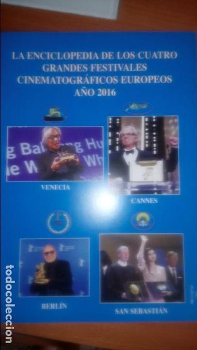 ENCICLOPEDIA FESTIVALES CINE EUROPEOS (..-2016) (Cine - Revistas - Otros)