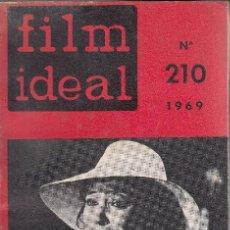 Cine: FILM IDEAL. Nº 210. AÑO 1969. Lote 120778131