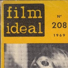 Cine: FILM IDEAL. Nº 208. AÑO 1969.. Lote 120778407
