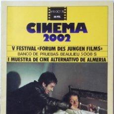Cinema: CINEMA 2002 Nº 8 OCTUBRE 1975. Lote 120793751
