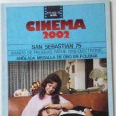 Cinema: CINEMA 2002 Nº 9 NOVIEMBRE 1975. Lote 120793795