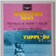 Cinema: CINEMA 2002 Nº 11 ENERO 1976. Lote 190848246