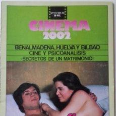 Cinema: CINEMA 2002 Nº 12 FEBRERO 1976. Lote 190848178