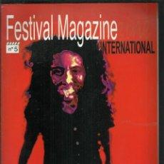 Cine: REVISTA FESTIVAL MAGAZINE INTERNATIONAL, Nº 5. MAYO-JUNIO 2000. CANNES, HUESCA, SITGES, FANTASPORTO.. Lote 120849975
