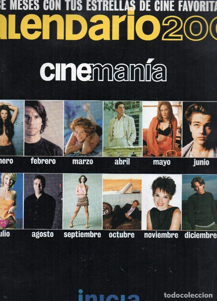 CALENDARIO 2001, CINEMANÍA. (Cine - Revistas - Cinemanía)