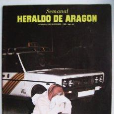 Cinema: THE BEATLES.SUPLEMENTO HERALDO DE ARAGÓN. 1983.. Lote 121230387