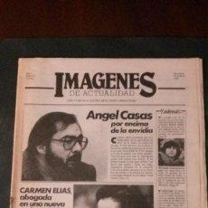 Cine: IMAGENES DE ACTUALIDAD Nº 1-1985-ANGEL CASAS-AMANCIO PRADA-CARLOS CANO-POLANSKI-CARMEN ELIAS-(RARO). Lote 125184726