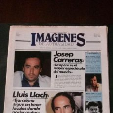 Cine: IMAGENES DE ACTUALIDAD Nº 3-1985-LLUIS LLACH-CESC GELABERT-AMANDA LEAR-AGUSTIN PANTOJA. Lote 125184762